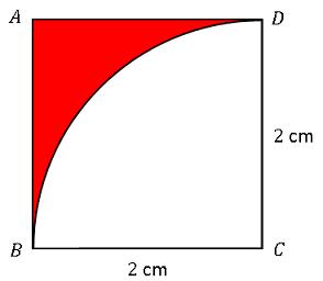 Excel扇形と正方形