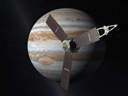 木星探査機ジュノーNASA