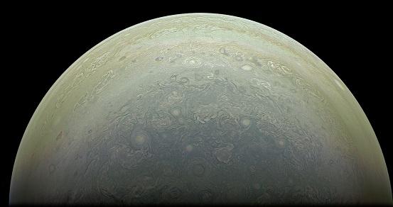 木星の南極NASA
