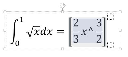 [数式ツール] 上付き数字