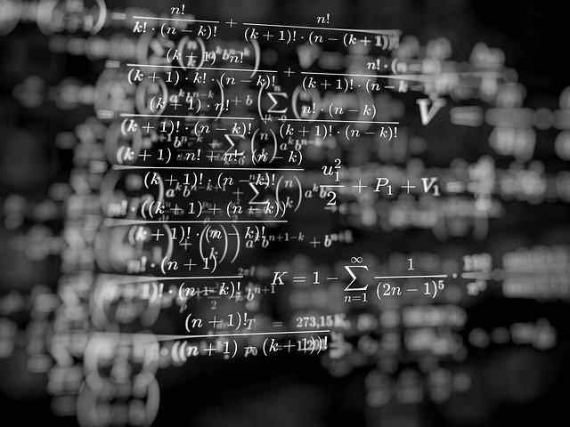数式の羅列イメージ画像